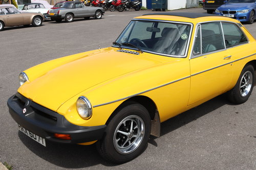 1979 MGB GT, Genuine 25000 miles from new. SOLD (picture 1 of 6)
