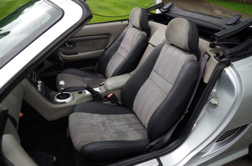 2003 MG TF Silver 'Sunstorm' Roadster SOLD (picture 6 of 6)