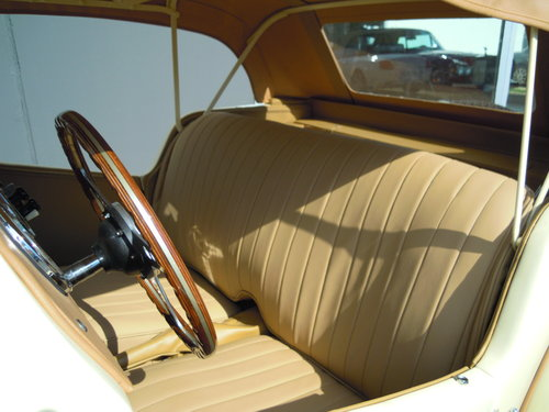 MG-TD with engine TR Vitesse 1953 For Sale (picture 4 of 6)