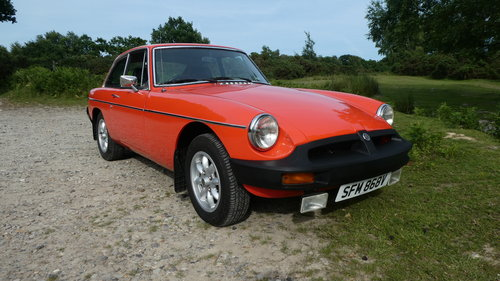 1980 MGB GT  SOLD (picture 1 of 6)