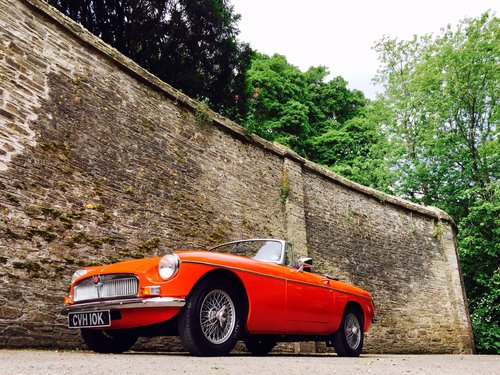 1972 MG B Roadster – £11,995  SOLD (picture 1 of 6)