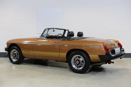 1981 Remarkable survivor MG B LE Roadster with just 250 miles !! SOLD (picture 1 of 6)