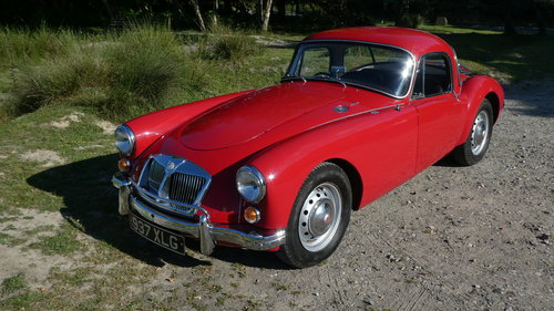 1962 MGA MK 2 Coupe For Sale (picture 1 of 6)