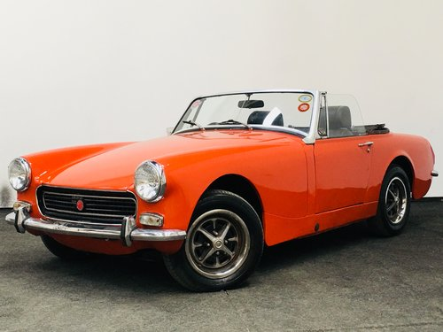 1974 m MG Midget round wheelarch - restored . super value  SOLD (picture 1 of 6)