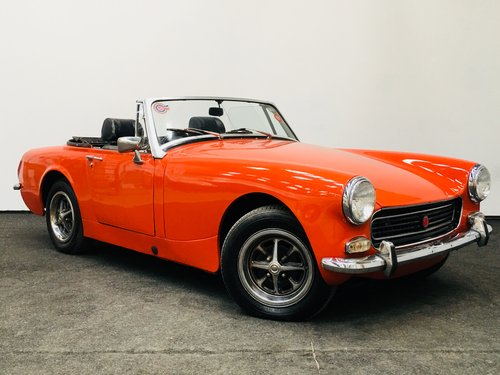 1974 m MG Midget round wheelarch - restored . super value  SOLD (picture 2 of 6)