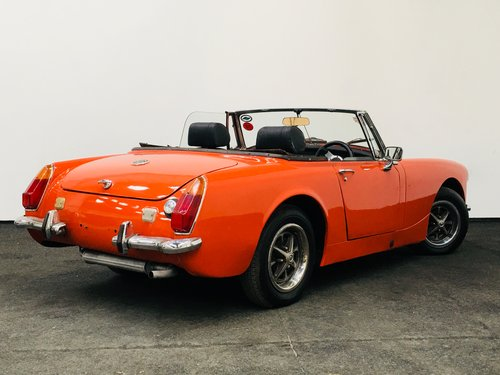 1974 m MG Midget round wheelarch - restored . super value  SOLD (picture 3 of 6)