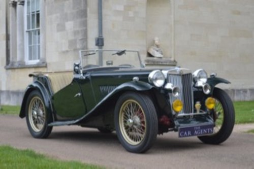 1949 MG Midget TC 1250 - 100,000 Miles SOLD (picture 1 of 6)