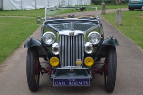 1949 MG Midget TC 1250 - 100,000 Miles SOLD (picture 2 of 6)