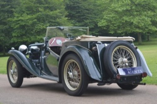 1949 MG Midget TC 1250 - 100,000 Miles For Sale (picture 4 of 6)