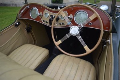 1949 MG Midget TC 1250 - 100,000 Miles For Sale (picture 5 of 6)