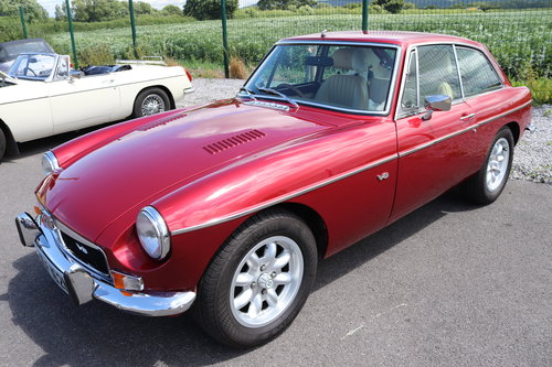 1975 Factory MGB GT V8, Heritage Shell with Upgrades.Show Quality SOLD (picture 1 of 6)