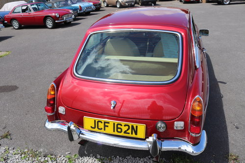 1975 Factory MGB GT V8, Heritage Shell with Upgrades.Show Quality SOLD (picture 2 of 6)