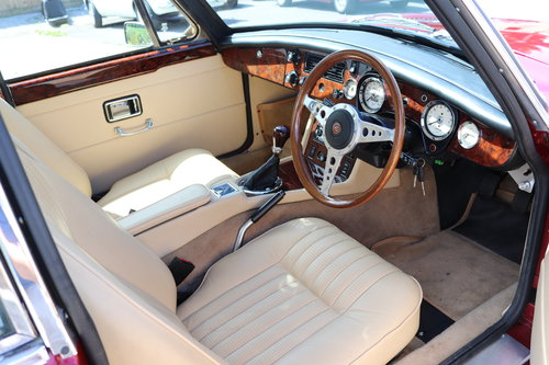 1975 Factory MGB GT V8, Heritage Shell with Upgrades.Show Quality SOLD (picture 3 of 6)