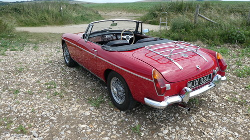 1970 MGB Roadster with Heritage Shell  SOLD (picture 4 of 5)