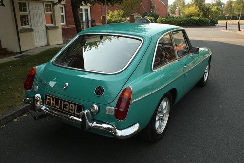 1972 MGB GT - Aqua - Restored -       MGBGT MG BGT SOLD (picture 2 of 6)