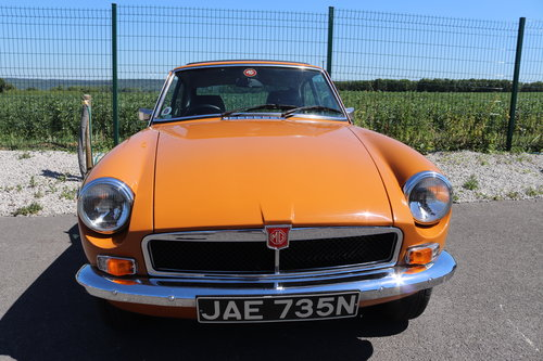 1975 MGB GT in Bracken, £12000 restoration,full sunroof  SOLD (picture 2 of 6)