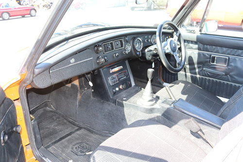 1975 MGB GT in Bracken, £12000 restoration,full sunroof  SOLD (picture 5 of 6)