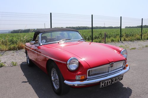 1968 MGB HERITAGE SHELL,Finest available,CCHL Built,Oselli spec.  SOLD (picture 1 of 6)