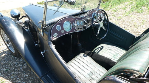 1949 MGTC Rare EXU Model in original condition  SOLD (picture 4 of 6)