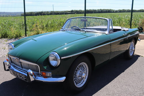 1968 MGB MK2, one owner past 42 years SOLD (picture 1 of 6)