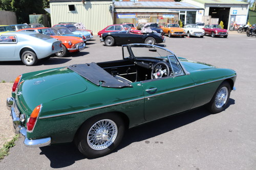 1968 MGB MK2, one owner past 42 years SOLD (picture 3 of 6)