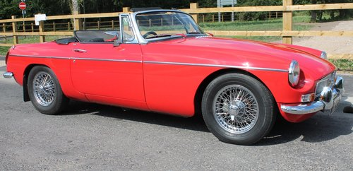 1970 MGB Roadster With O/D , UK , RHD Supplied Example  SOLD (picture 1 of 6)