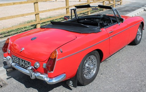 1970 MGB Roadster With O/D , UK , RHD Supplied Example  SOLD (picture 3 of 6)