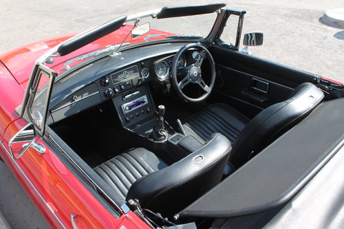 1970 MGB Roadster With O/D , UK , RHD Supplied Example  SOLD (picture 4 of 6)