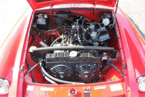 1970 MGB Roadster With O/D , UK , RHD Supplied Example  SOLD (picture 5 of 6)