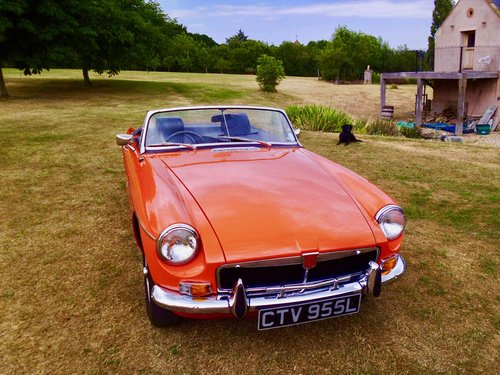 MGB roadster 1972 60,000 miles For Sale (picture 1 of 6)
