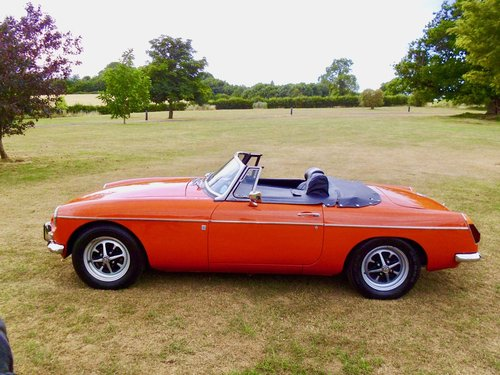 MGB roadster 1972 60,000 miles For Sale (picture 2 of 6)