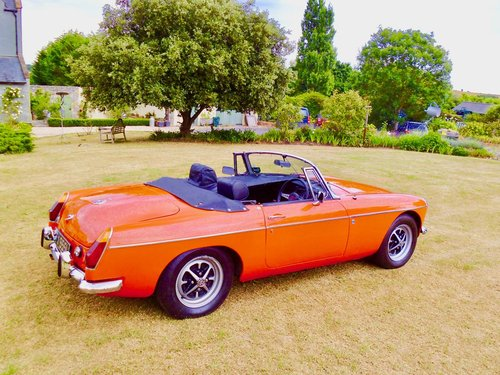 MGB roadster 1972 60,000 miles For Sale (picture 3 of 6)