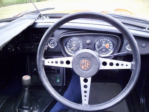 MGB roadster 1972 60,000 miles For Sale (picture 4 of 6)