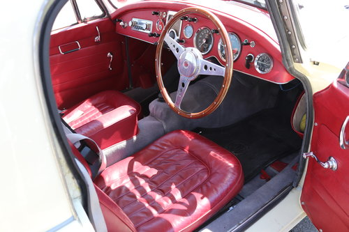 1961 MGA 1600 MK2 Coupe, Rare Home market car SOLD (picture 2 of 6)