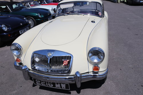 1961 MGA 1600 MK2 Coupe, Rare Home market car SOLD (picture 5 of 6)