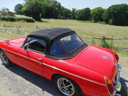 1969 Lovely  MGB Roadster,overdrive,new MOT,ready to enjoy. SOLD (picture 6 of 6)