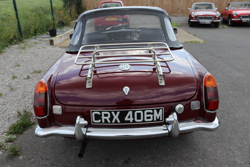 1973 MGB Roadster, Heritage shell, total rebuild, 6 in stock SOLD (picture 4 of 6)