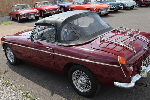1973 MGB Roadster, Heritage shell, total rebuild, 6 in stock SOLD (picture 5 of 6)