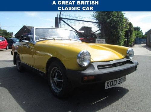 1978 MG MIDGET 1.5 1500 2d 65 BHP For Sale (picture 1 of 6)