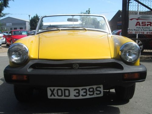 1978 MG MIDGET 1.5 1500 2d 65 BHP For Sale (picture 2 of 6)