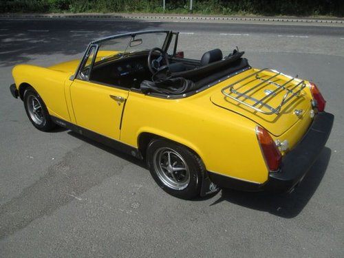 1978 MG MIDGET 1.5 1500 2d 65 BHP For Sale (picture 4 of 6)