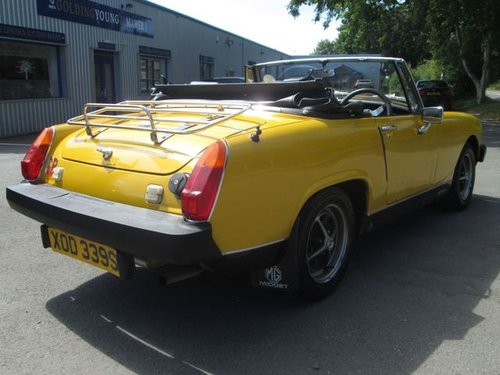 1978 MG MIDGET 1.5 1500 2d 65 BHP For Sale (picture 6 of 6)