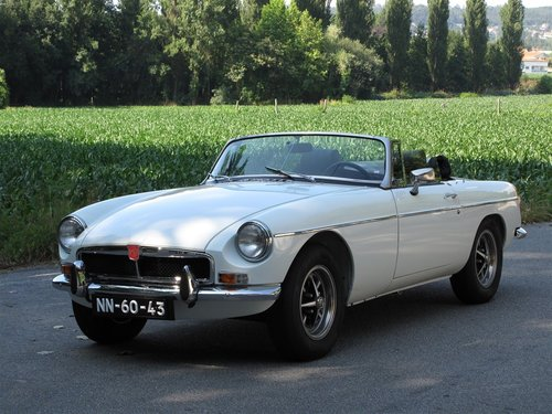 1974 MG B Roadster 1800 with Overdrive For Sale (picture 1 of 6)