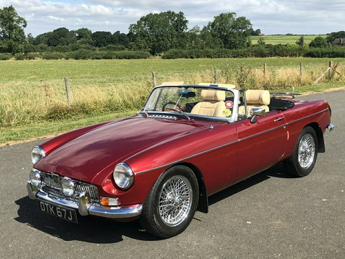 1971 MGB Roadster Manual Overdrive SOLD (picture 1 of 6)