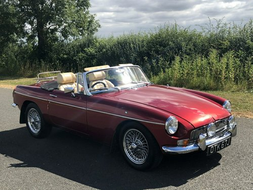 1971 MGB Roadster Manual Overdrive SOLD (picture 3 of 6)