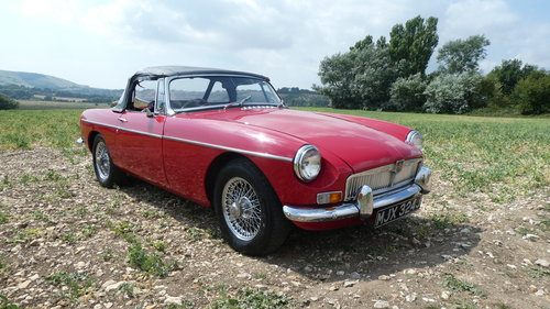 1970 MGB Roadster with Heritage Shell  SOLD (picture 5 of 5)