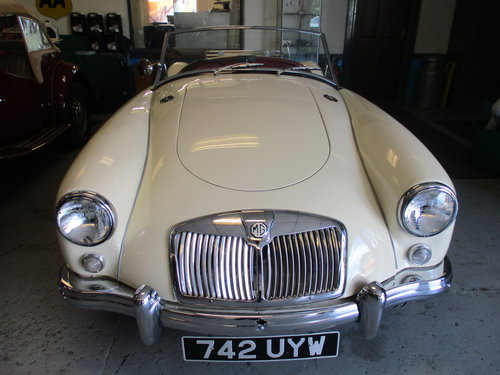 MG A 1957 For Sale (picture 1 of 5)