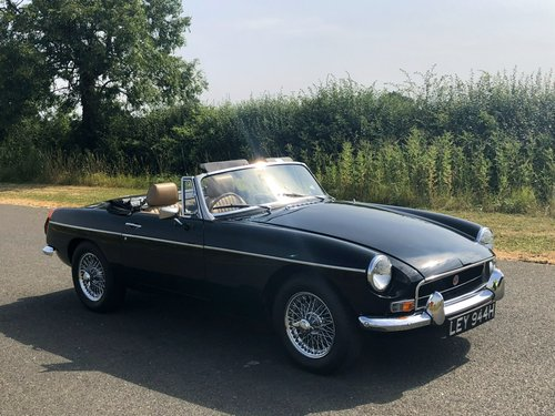 1970 MGB Roadster 1800 Manual with Overdrive SOLD (picture 3 of 6)