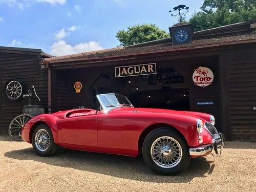 1962 MGA MK2 1622 ROADSTER, ORIGINAL U.K. CAR SOLD (picture 1 of 6)