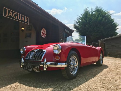 1962 MGA MK2 1622 ROADSTER, ORIGINAL U.K. CAR SOLD (picture 2 of 6)